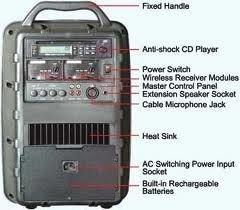 Mipro Portable PA - MA-705