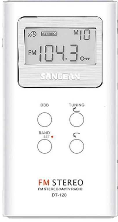 Sangean DT120 Pocket Radio