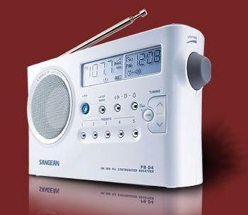 Sangean PR-D4 Portable PLL Radio