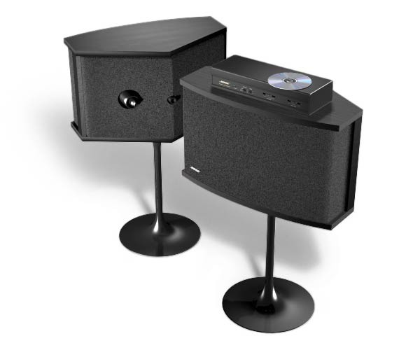 Bose PS6B Black pedestals for 901 speakers