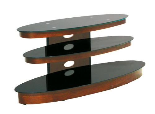 "OMP 3 Shelf 37-50"" TV Table - Glacier"