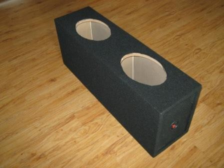 Toxic SQ 26 x 9 Sub Enclosure