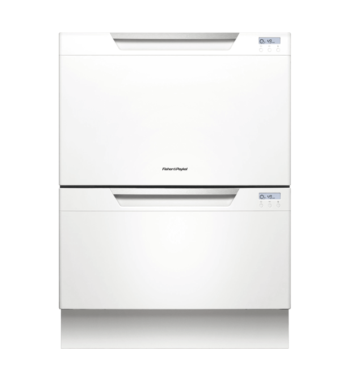 Fisher & Paykel Double DishDrawer - White