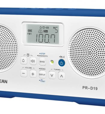 Sangean PR-D19 FM/AM Digital Stereo Alarm Clock Radio