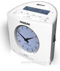 Sangean RCR-9 FM/AM Digital Tuning Atomic Clock Radio