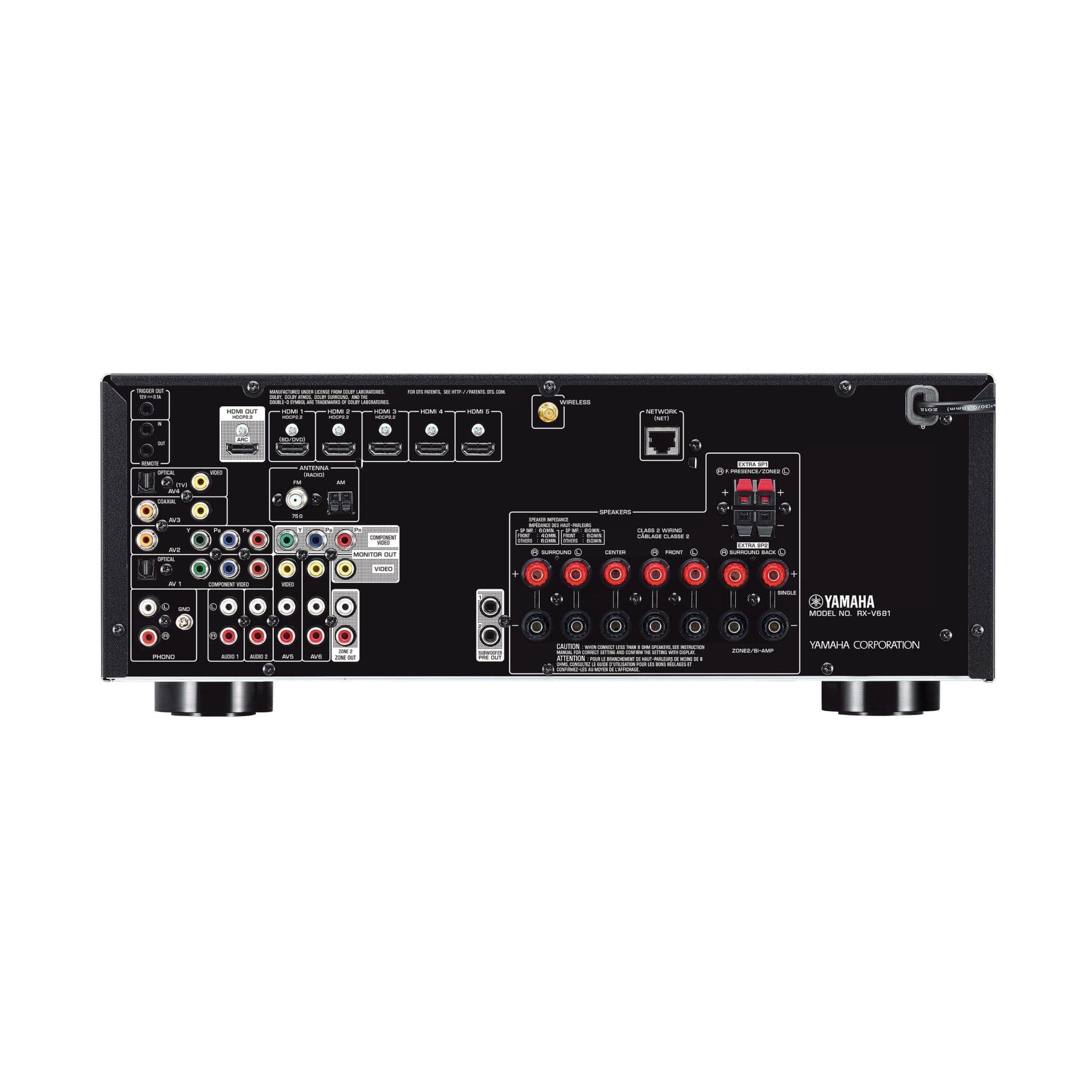 Yamaha RXV781 AV Receiver. FREE Delivery