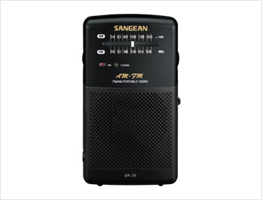 Sangean SR-35 FM/AM Portable Pocket Size Radio