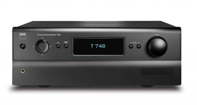 NAD T 748 3D Capable A/V Surround Sound Receiver