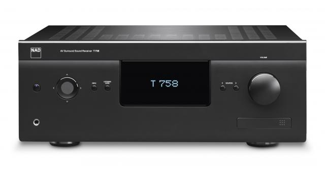 NAD T758 3D Capable A/V Surround Sound Receiver
