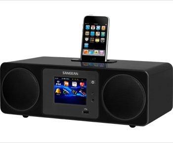 Sangean WFR-2D Internet Radio Network Music Player