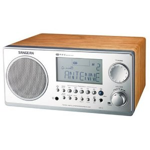 Sangean WR2 FM/AM Table Top Radio
