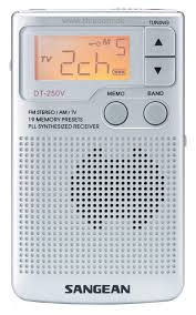 Sangean DT250 FM/AM Pocket Radio