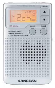 Sangean DT250 FM/AM Pocket Radio