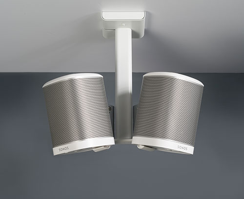 Flexson SONOS PLAY:1 Ceiling Mount Double (white)