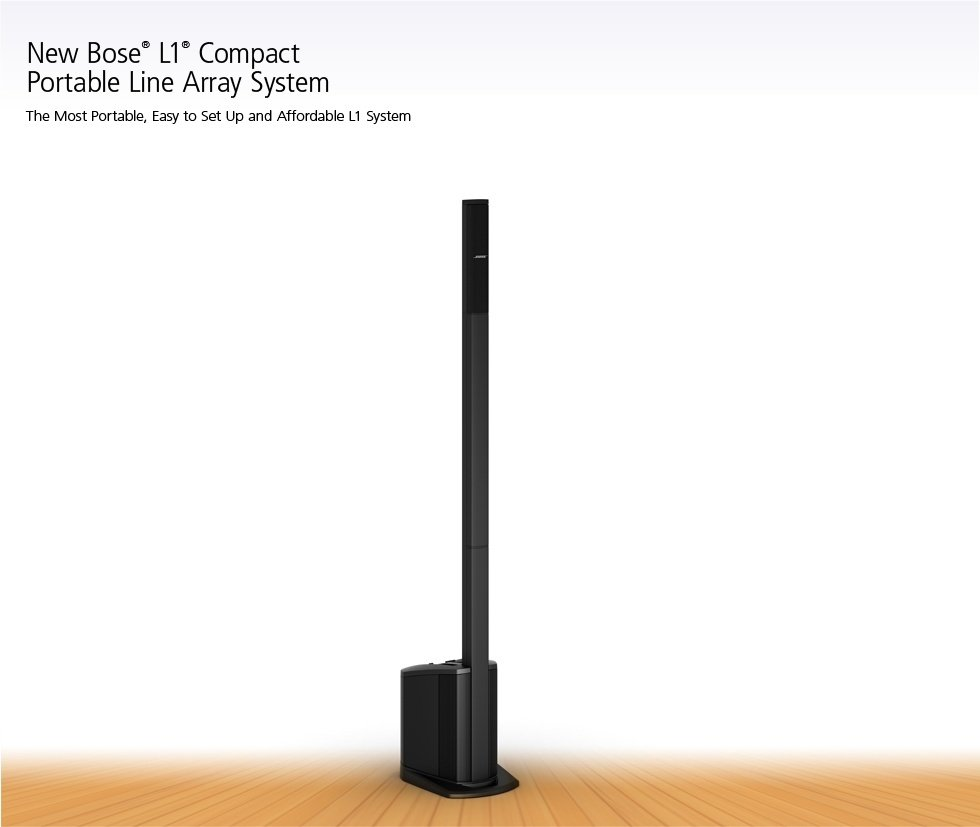 Bose L1 Compact System. FREE Delivery