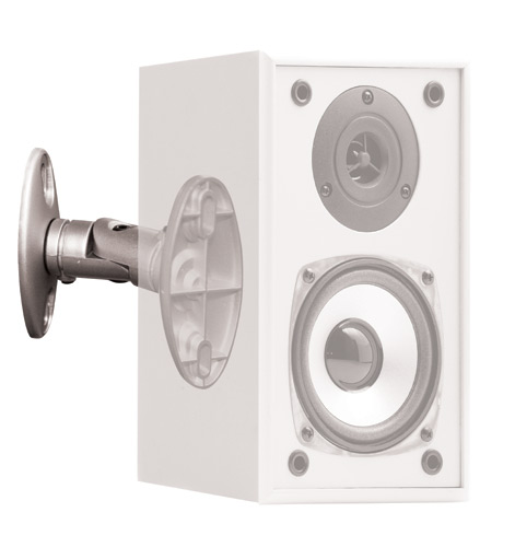 OMP Speaker Mounting Brackets (Pair) - Silver