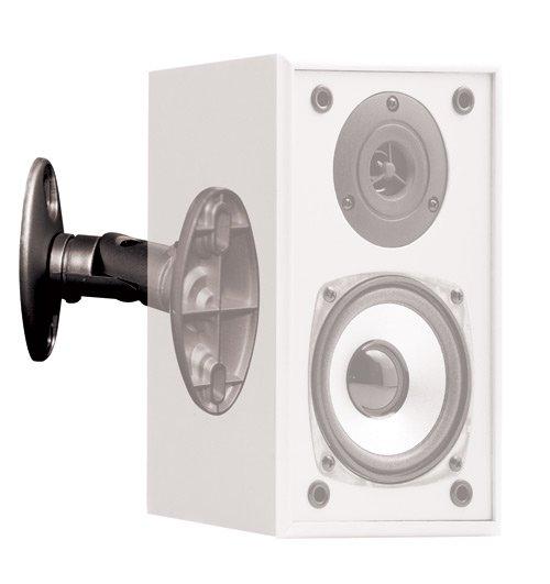 OMP Speaker Mounting Brackets (Pair) - Black