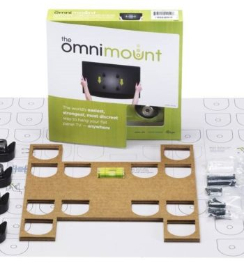 Omnimount OMF Fixed Flat Panel TV Mount