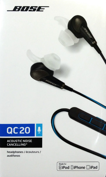 Bose QC20 Noise Cancelling Headphones for Apple FREE DELIVERY