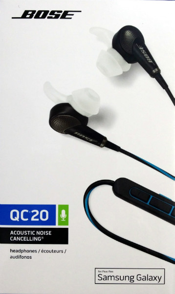 Bose QC20 Noise Cancelling Headphones for Samsung FREE DELIVERY