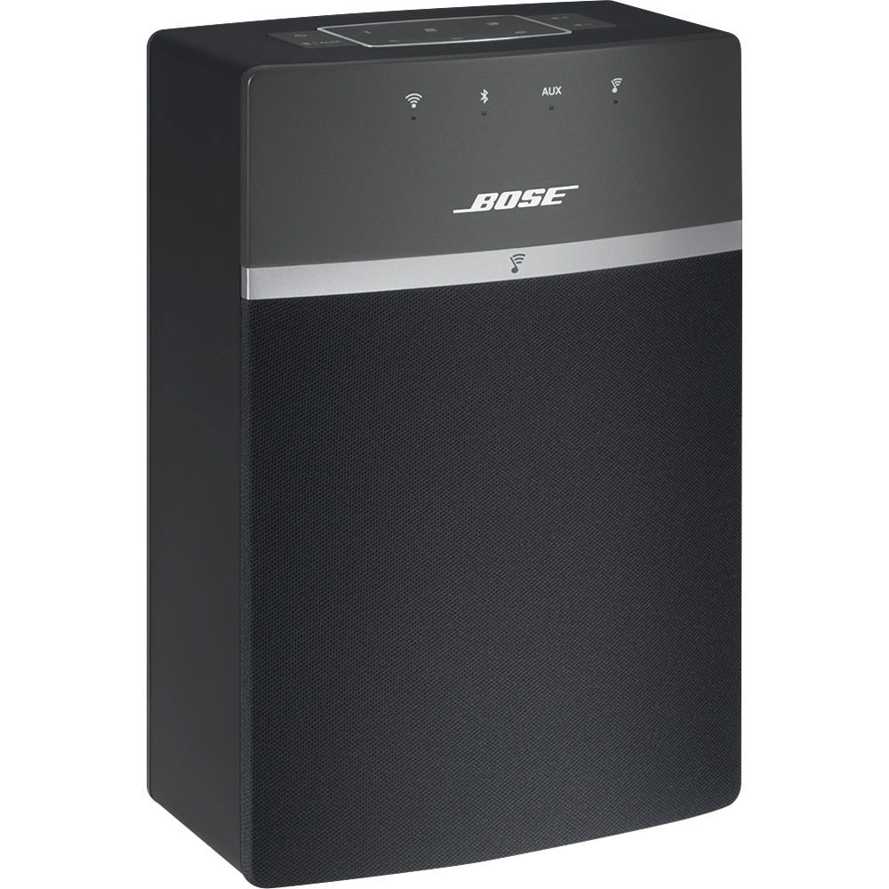 bose soundtouch 10 wireless bluetooth system sale gary anderson. Black Bedroom Furniture Sets. Home Design Ideas