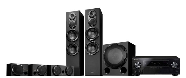 Pioneer Todoroki 523 5.1 Home Theatre Pack for iPod/iPhone.