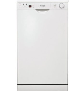 Haier Compact White Dishwasher