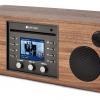 Como Audio MUSICA CD, WiFi, Bluetooth, Radio Walnut/Black