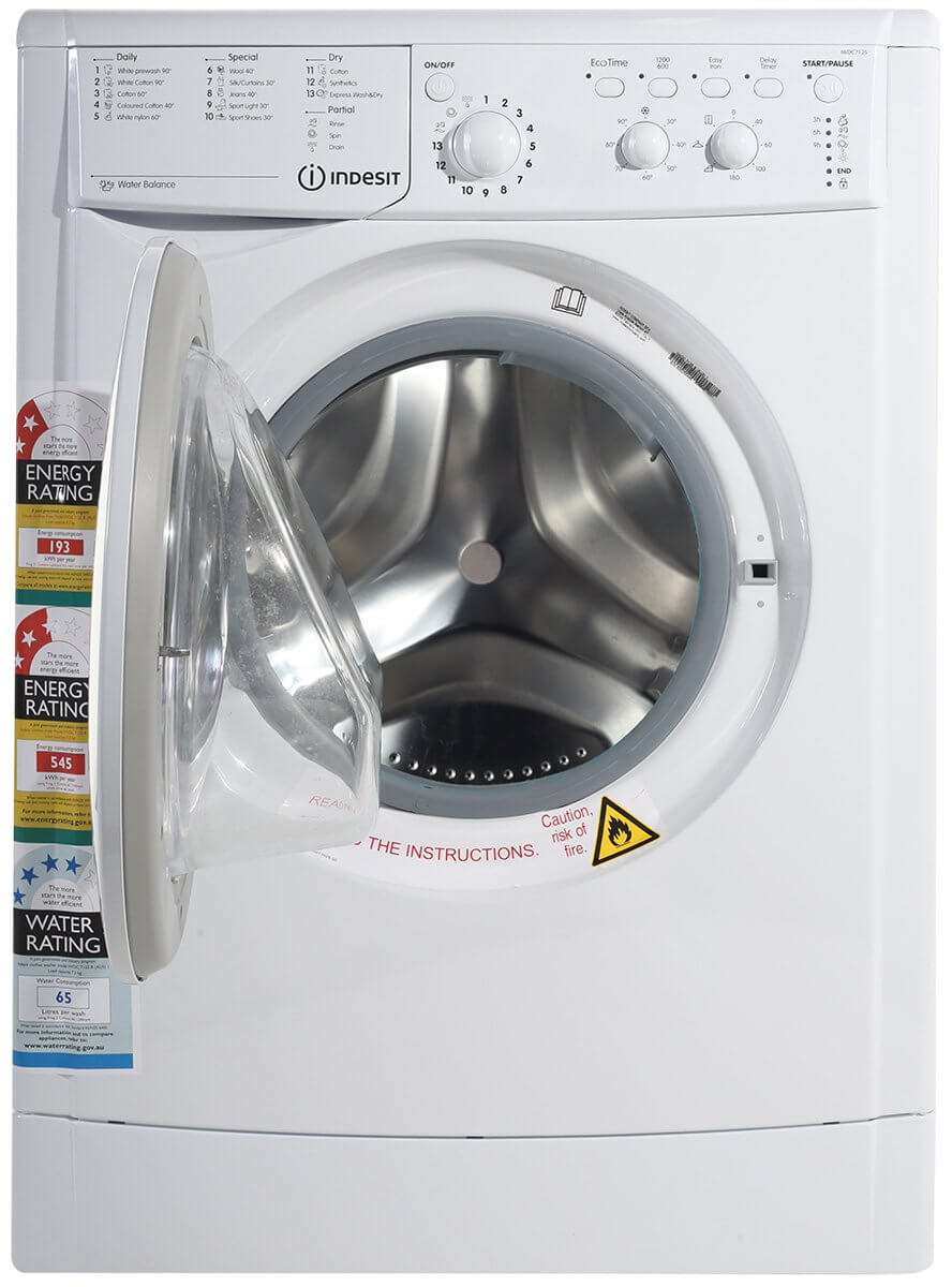 Indesit Iwdc 7125b Front Loading Washer Dryer Gary Anderson