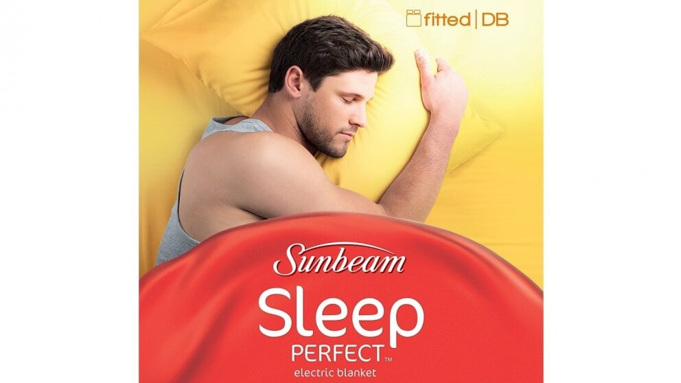 Sunbeam Sleep Perfect Double Bed Fitted, Sunbeam Sleep Perfect Quilted Electric Blanket Queen Bed Bl5451